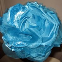 Turquoise Fascinator or Corsage by Nigel Rayment (NR16)